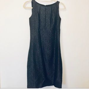 Just...Taylor fit and flare sleeveless dress